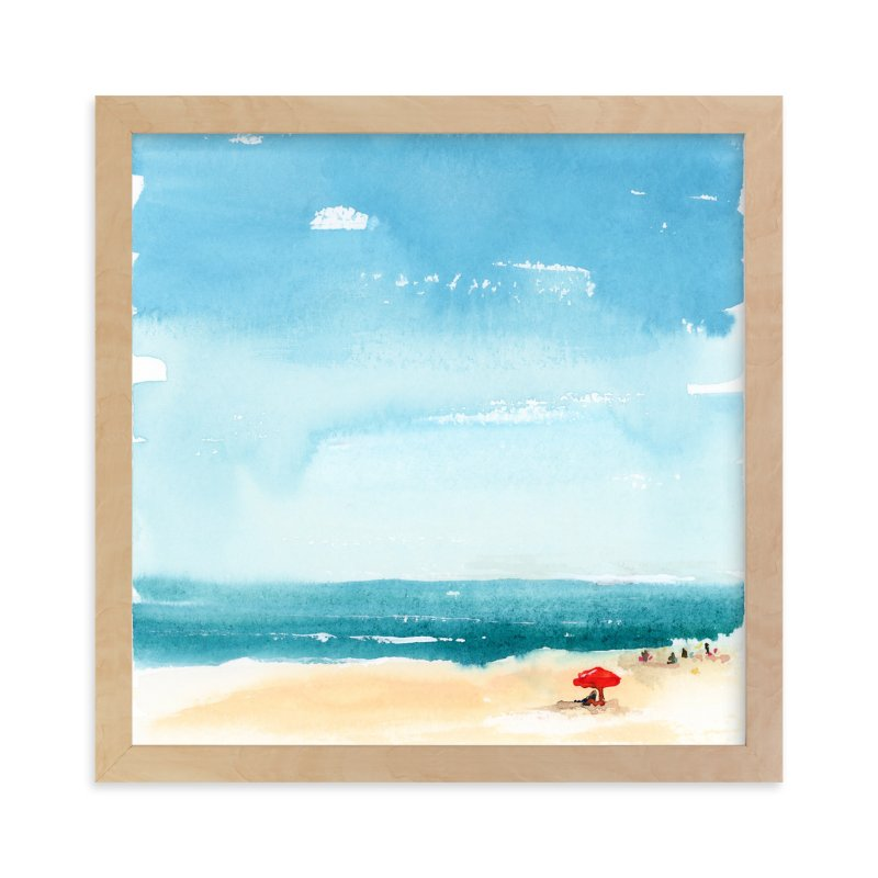"""""""Weekending"""" - Limited Edition Art Print by Lindsay Megahed in beautiful frame options and a variety of sizes."""