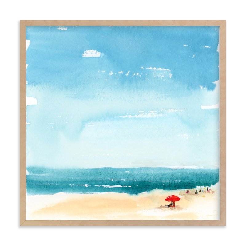 """Weekending"" - Limited Edition Art Print by Lindsay Megahed in beautiful frame options and a variety of sizes."