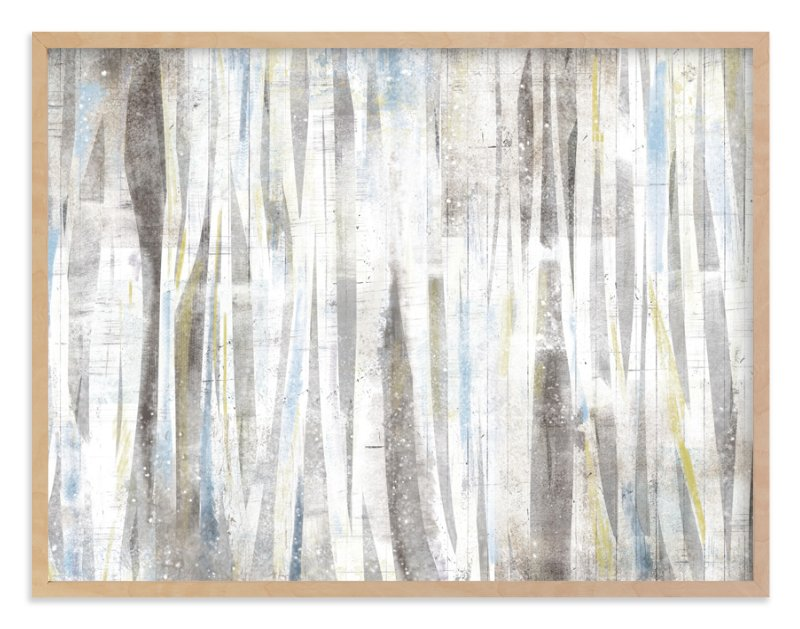 """""""Serene Forest"""" - Limited Edition Art Print by Hooray Creative in beautiful frame options and a variety of sizes."""