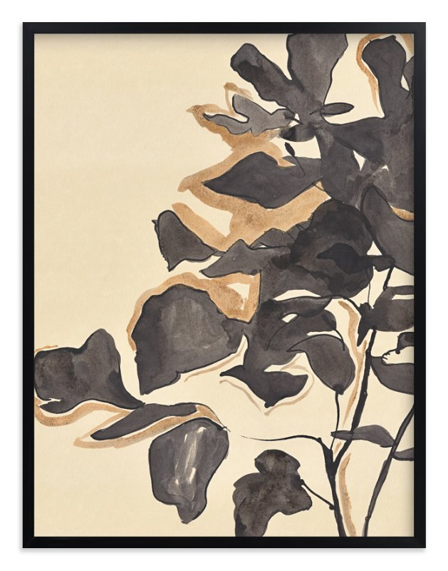 """""""Young Fig"""" - Limited Edition Art Print by Laura Condouris in beautiful frame options and a variety of sizes."""