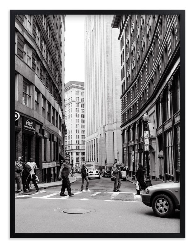 """""""Downtown IV"""" - Limited Edition Art Print by Erin Beutel in beautiful frame options and a variety of sizes."""