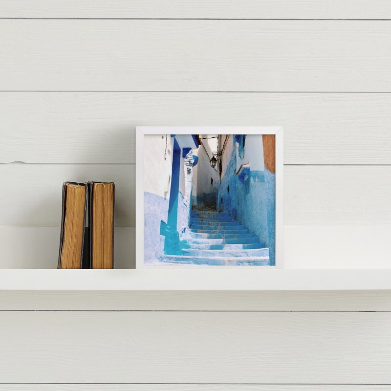 Streets Of Chefchaouen Ii Wall Art Prints By Amk Minted