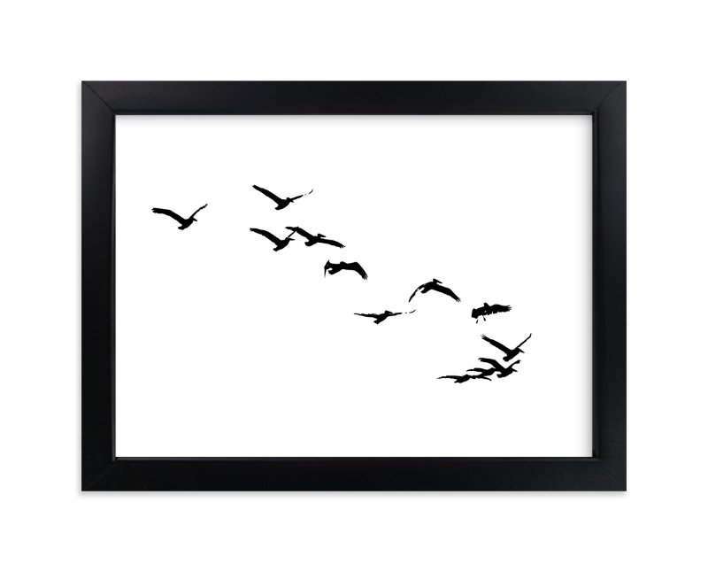"""Landing"" - Limited Edition Art Print by Neeta Sawhney in beautiful frame options and a variety of sizes."