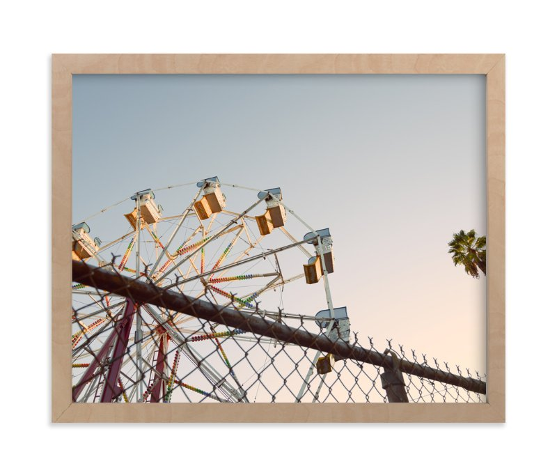 """""""LA Sky"""" - Limited Edition Art Print by Alexandra Nazari in beautiful frame options and a variety of sizes."""