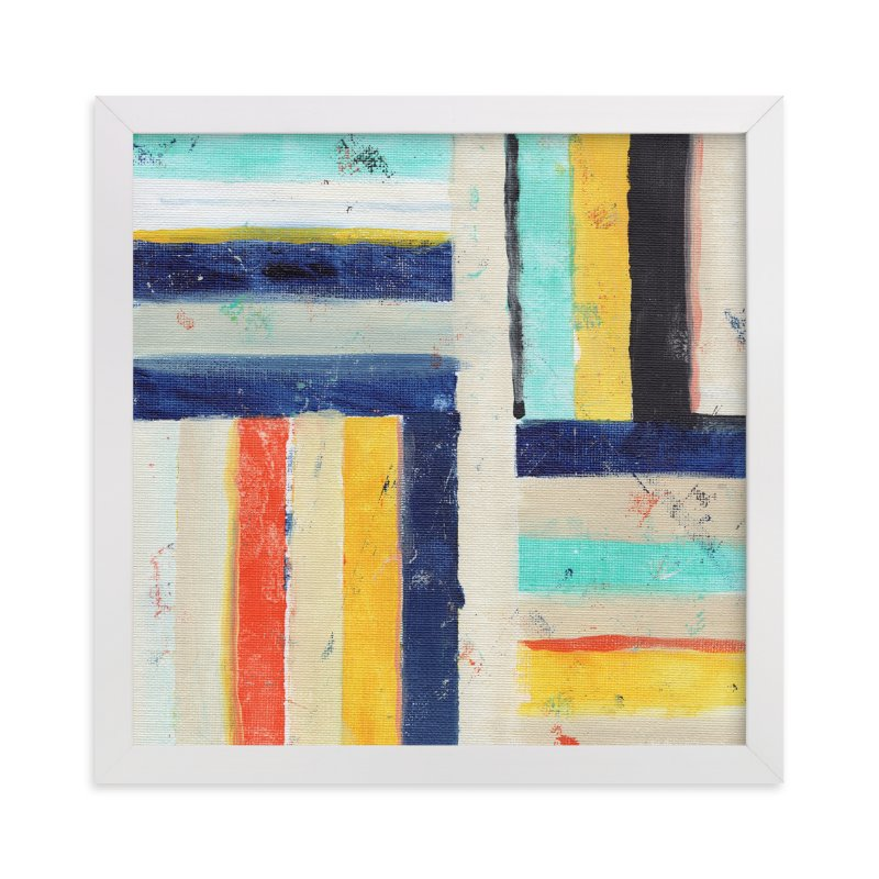 """""""Junction"""" - Limited Edition Art Print by Lindsay Megahed in beautiful frame options and a variety of sizes."""