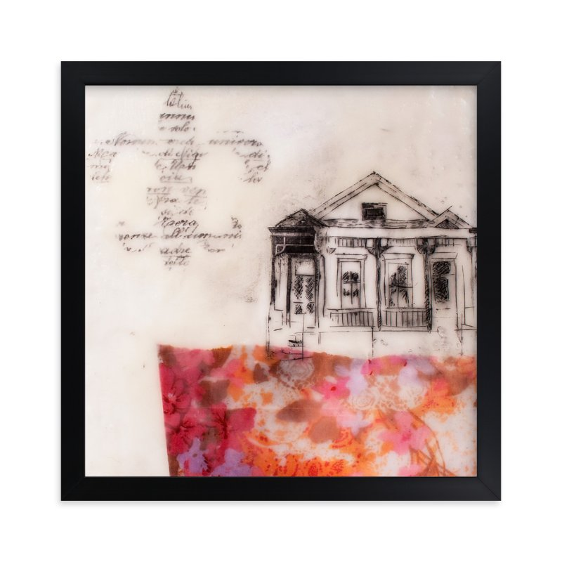 """""""A Study of Home I"""" - Limited Edition Art Print by Two if by Sea Studios in beautiful frame options and a variety of sizes."""