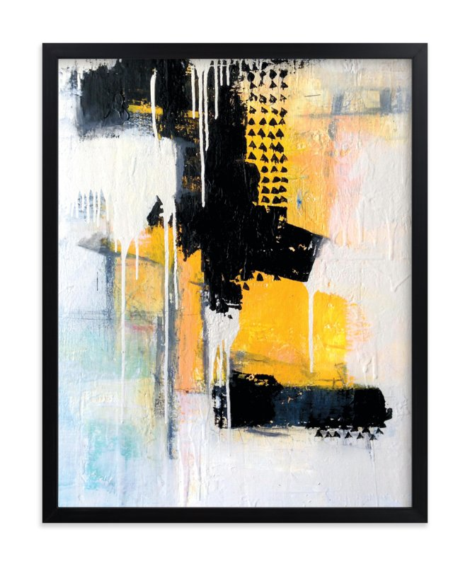 """""""Ides"""" - Limited Edition Art Print by Joe Barka in beautiful frame options and a variety of sizes."""
