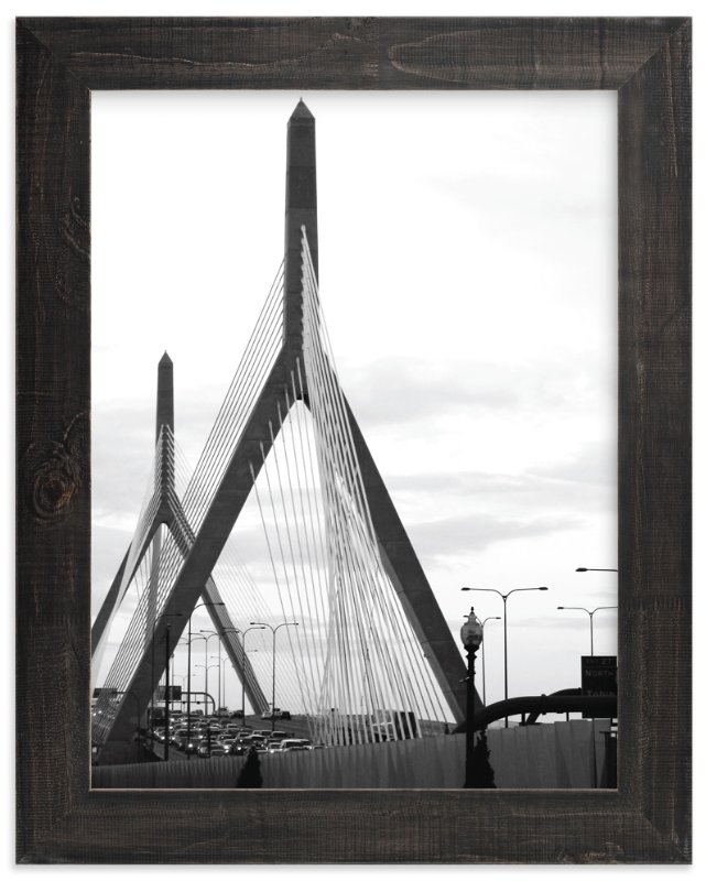 """Bridges of Boston"" - Limited Edition Art Print by Kelsey McNatt in beautiful frame options and a variety of sizes."