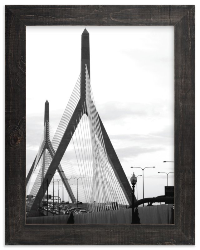 """""""Bridges of Boston"""" - Limited Edition Art Print by Kelsey McNatt in beautiful frame options and a variety of sizes."""