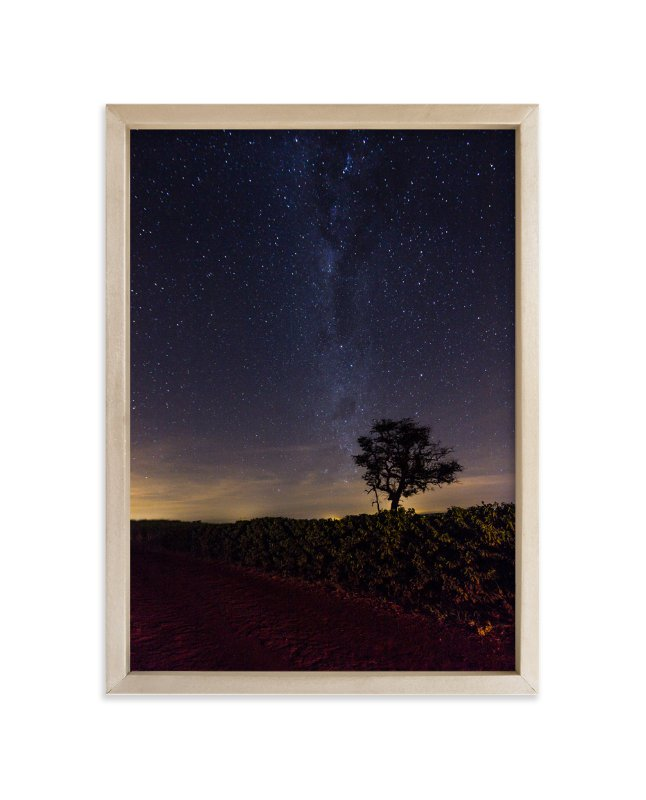 """Following the Milky Way"" - Limited Edition Art Print by Sandro Portaluri in beautiful frame options and a variety of sizes."
