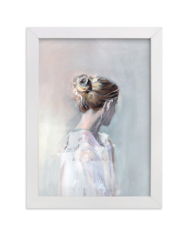 """Linger"" - Limited Edition Art Print by Sarah McInroe in beautiful frame options and a variety of sizes."