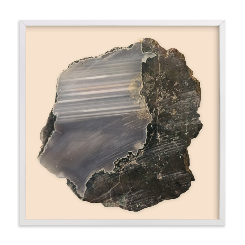 """Rock Study 1"" - Limited Edition Art Print by Baumbirdy in beautiful frame options and a variety of sizes."