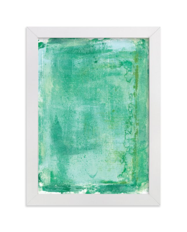 """""""Ocean Abstract IV"""" - Limited Edition Art Print by Vine and Thistle in beautiful frame options and a variety of sizes."""