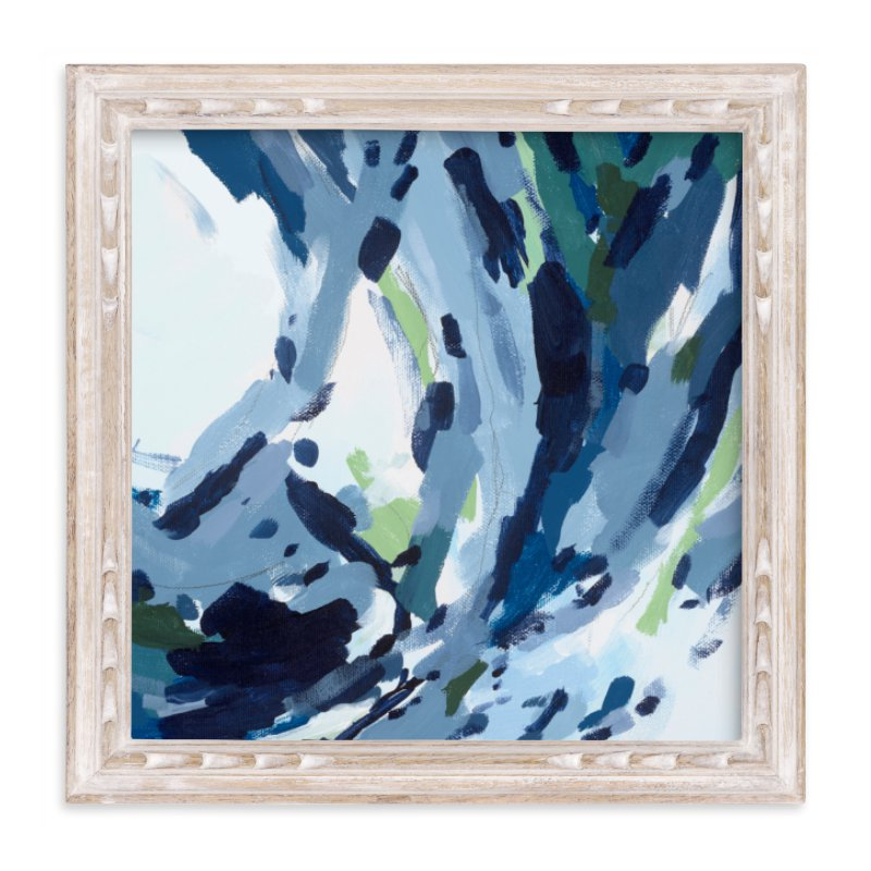 """""""Verdant Wave """" - Art Print by Katie Craig in beautiful frame options and a variety of sizes."""