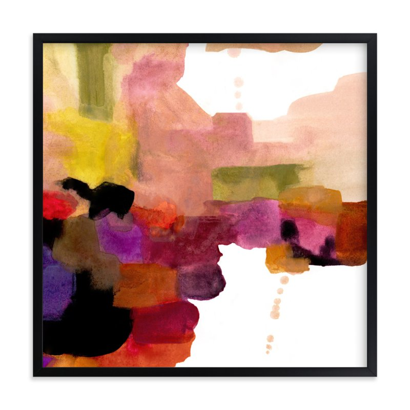 """""""A Ledge"""" - Limited Edition Art Print by Mande in beautiful frame options and a variety of sizes."""