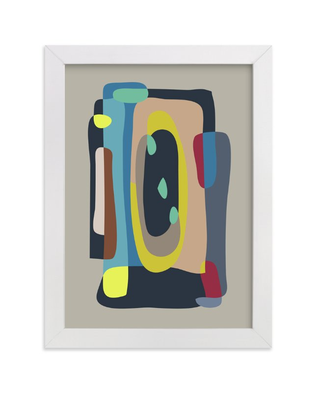 """""""Exploration"""" - Limited Edition Art Print by Christina Flowers in beautiful frame options and a variety of sizes."""
