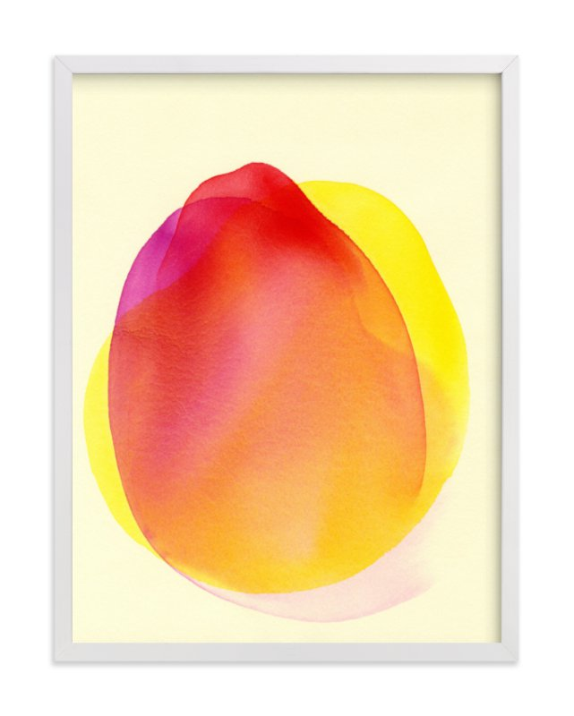 """""""My Portion"""" - Limited Edition Art Print by Jon Lai in beautiful frame options and a variety of sizes."""