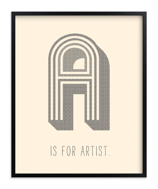 """Artisan"" - Limited Edition Art Print by Marabou Design in beautiful frame options and a variety of sizes."