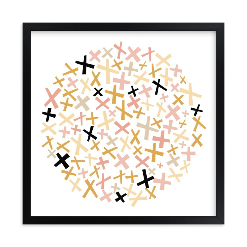 """""""Criss Cross"""" - Limited Edition Art Print by annie clark in beautiful frame options and a variety of sizes."""