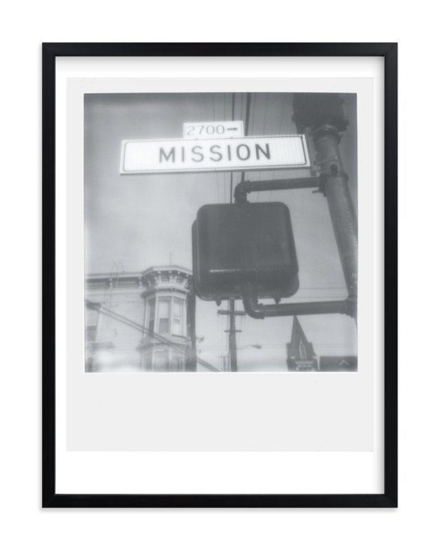 """""""Mission Street"""" - Limited Edition Art Print by Namrata Patel in beautiful frame options and a variety of sizes."""