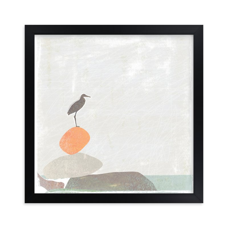 """""""Balance"""" - Limited Edition Art Print by Griffinbell Paper Co. in beautiful frame options and a variety of sizes."""