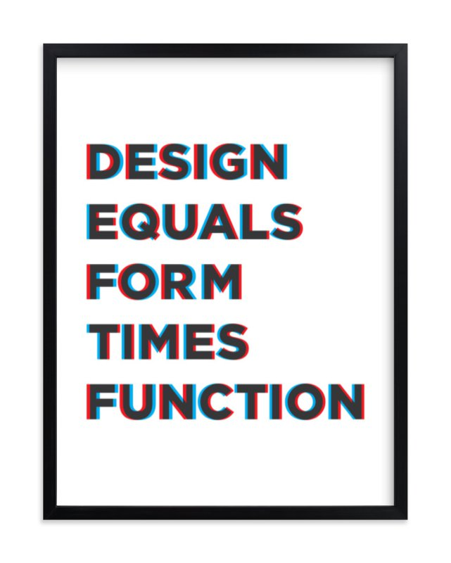 """Design for Fun"" - Limited Edition Art Print by Joseph Manibusan in beautiful frame options and a variety of sizes."