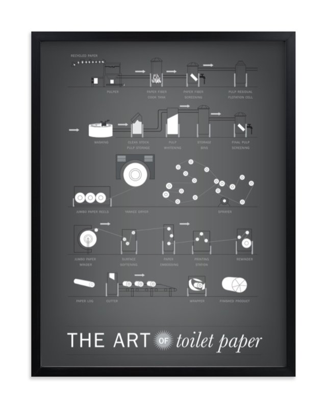 """""""The Art of Paper"""" - Limited Edition Art Print by R studio in beautiful frame options and a variety of sizes."""