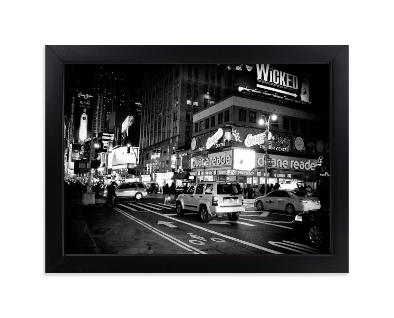 """Night in New York"" - Limited Edition Art Print by Hendro Lim in beautiful frame options and a variety of sizes."