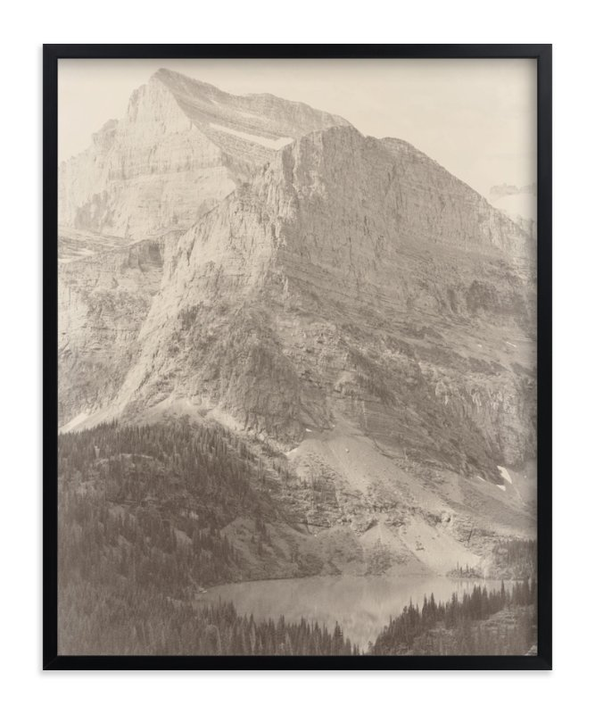 """Glacier National Park"" - Limited Edition Art Print by Brooke Chandler in beautiful frame options and a variety of sizes."