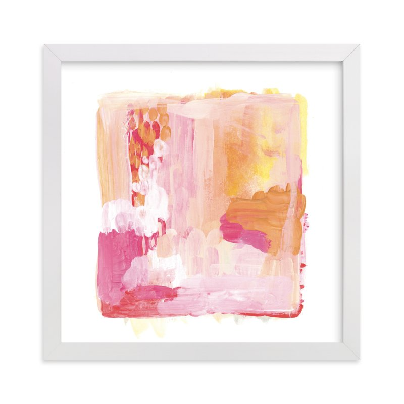 """Paint Study Sunset"" - Limited Edition Art Print by Alethea and Ruth in beautiful frame options and a variety of sizes."