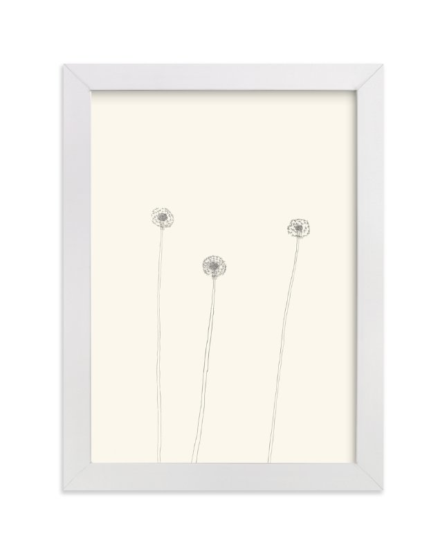 """Dandelions"" - Limited Edition Art Print by Jorey Hurley in beautiful frame options and a variety of sizes."
