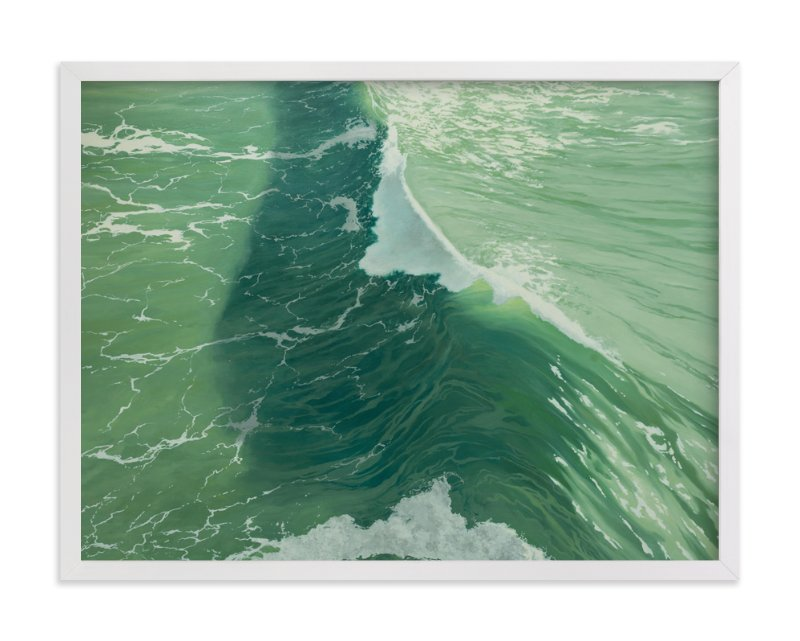 """""""Salinity Now"""" - Limited Edition Art Print by Denny Holland in beautiful frame options and a variety of sizes."""