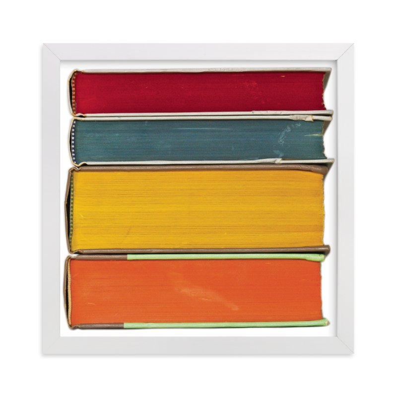 """""""Stacked"""" - Limited Edition Art Print by That Girl Studio in beautiful frame options and a variety of sizes."""