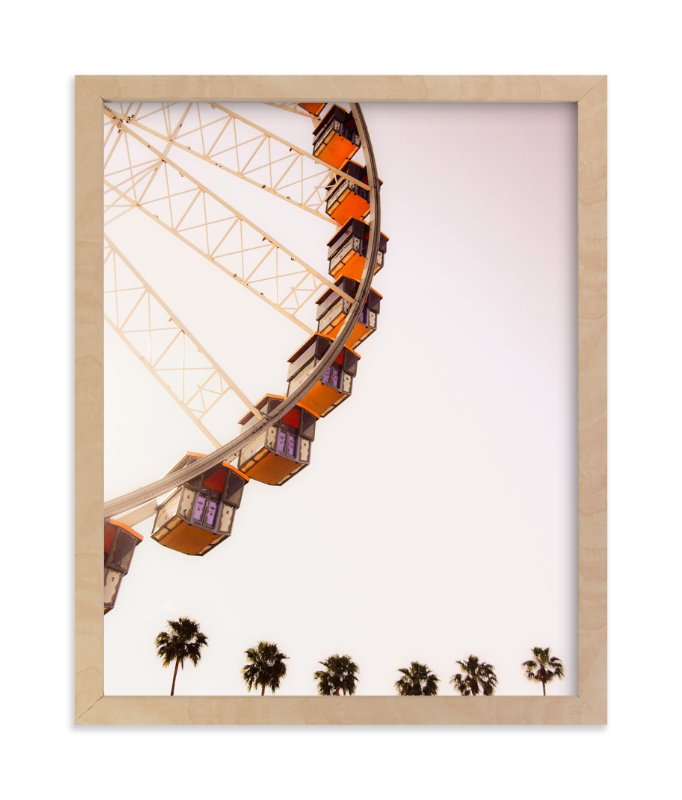 """""""California Dreams"""" - Limited Edition Art Print by Alexandra Nazari in beautiful frame options and a variety of sizes."""