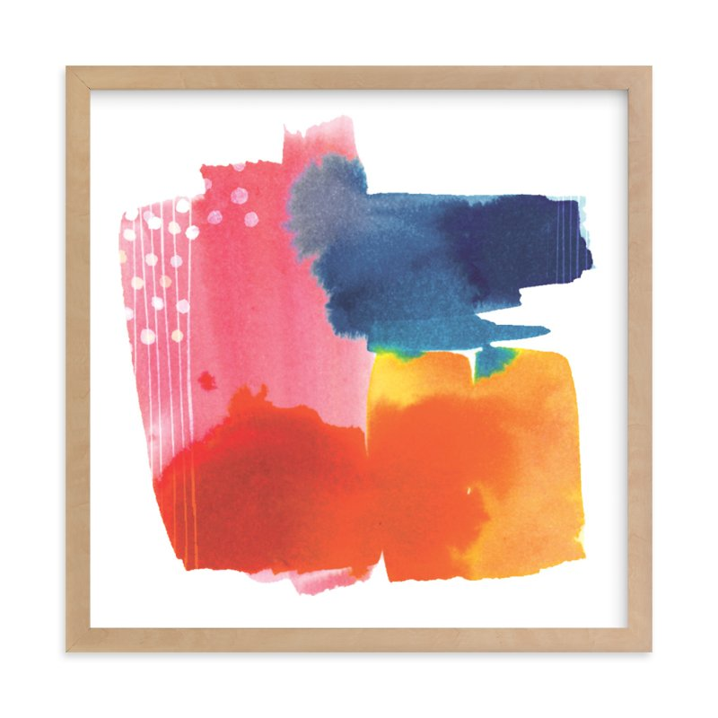 """Sunset"" - Limited Edition Art Print by Jen Chen in beautiful frame options and a variety of sizes."