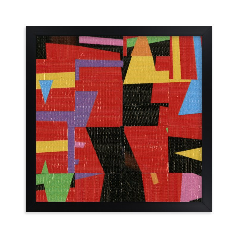 """""""flagg 2"""" - Limited Edition Art Print by graham moore in beautiful frame options and a variety of sizes."""