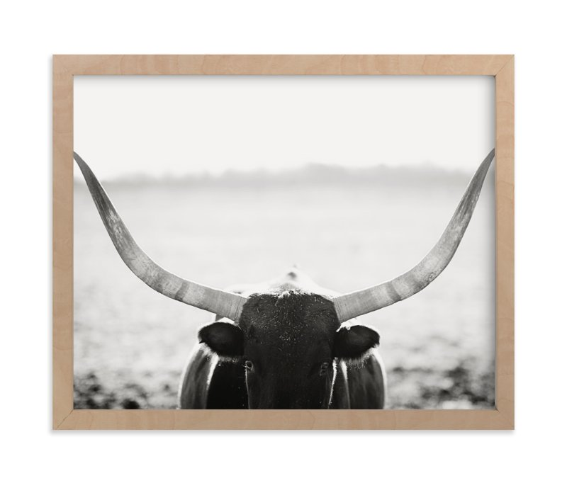 """""""Staredown"""" - Limited Edition Art Print by Amy Carroll in beautiful frame options and a variety of sizes."""