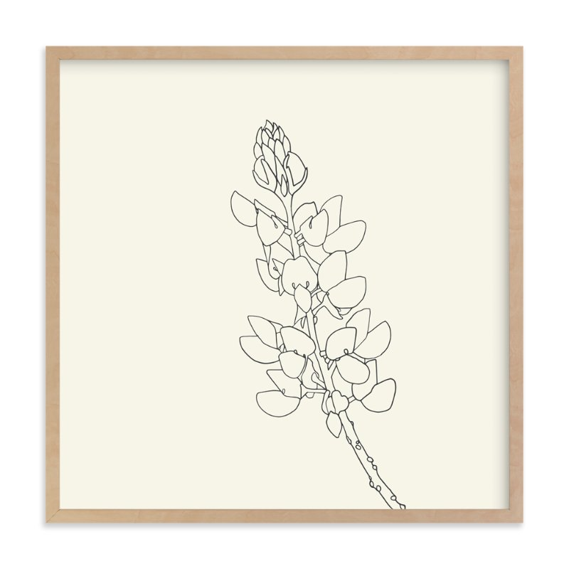 """Lupine"" - Limited Edition Art Print by Jorey Hurley in beautiful frame options and a variety of sizes."
