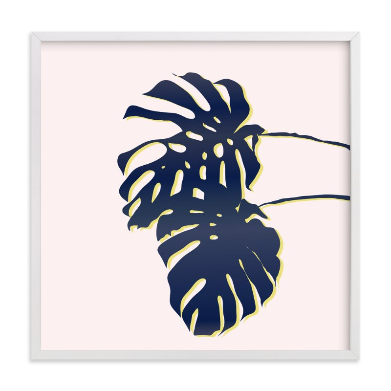 """Palm Study #3"" - Limited Edition Art Print by Cindy Lackey in beautiful frame options and a variety of sizes."