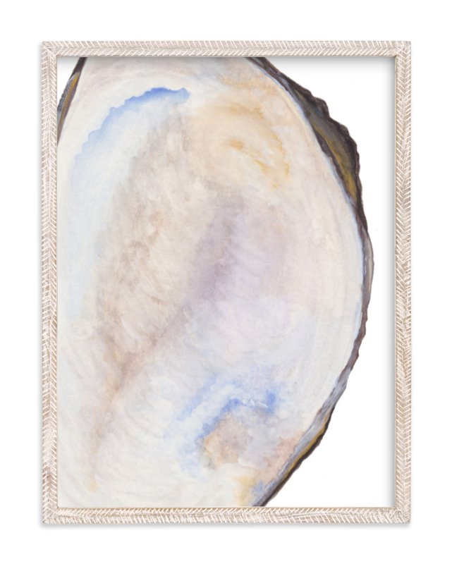 """The Half Shell"" - Limited Edition Art Print by Kaydi Bishop in beautiful frame options and a variety of sizes."