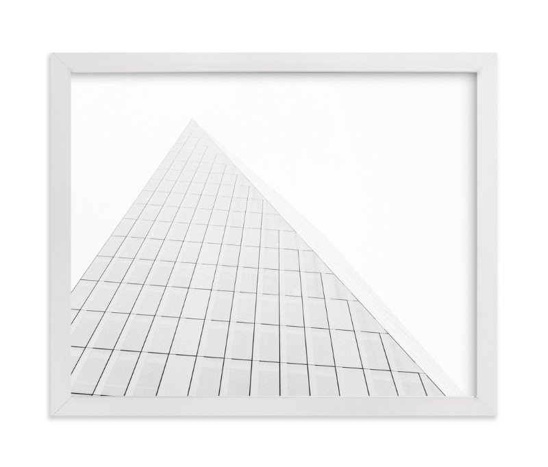 """""""Pyramid Building"""" - Limited Edition Art Print by Anna Western in beautiful frame options and a variety of sizes."""