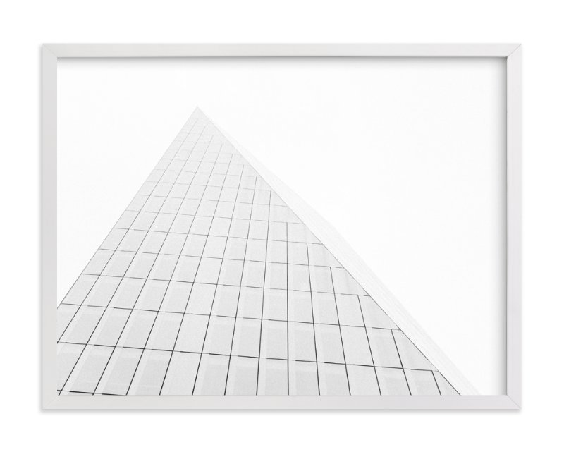 """Pyramid Building"" - Limited Edition Art Print by Anna Western in beautiful frame options and a variety of sizes."