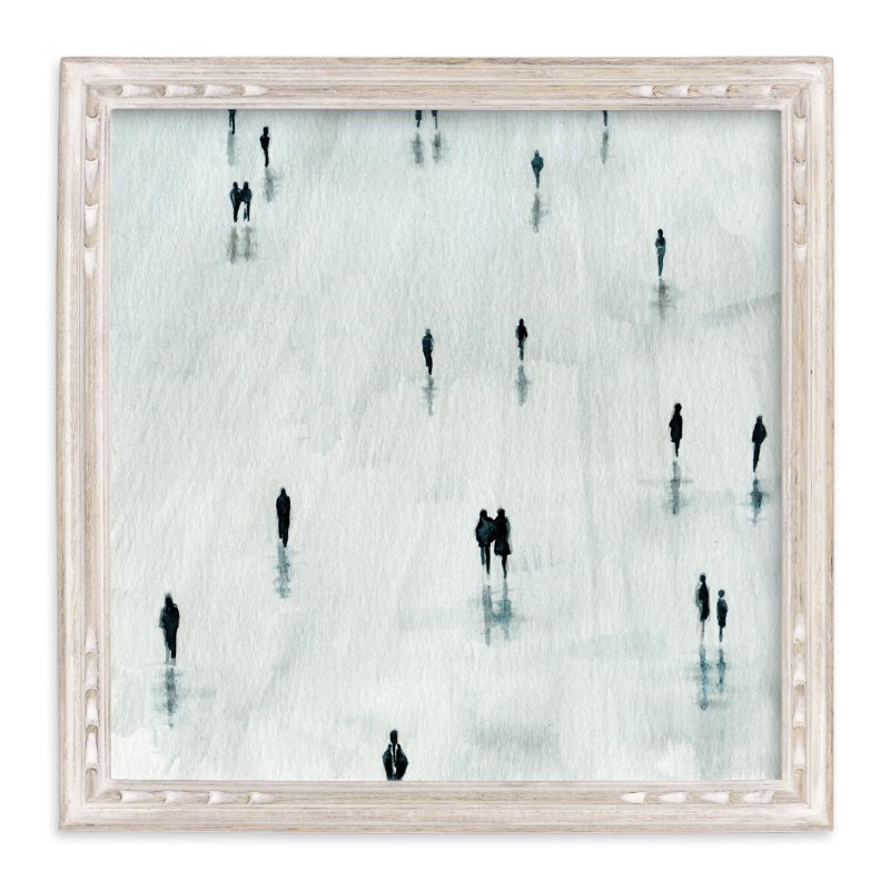 """""""Sombras"""" - Limited Edition Art Print by Lulaloo in beautiful frame options and a variety of sizes."""