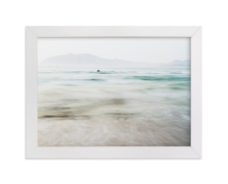 """""""the pacific"""" - Limited Edition Art Print by Kaitlin Rebesco in beautiful frame options and a variety of sizes."""