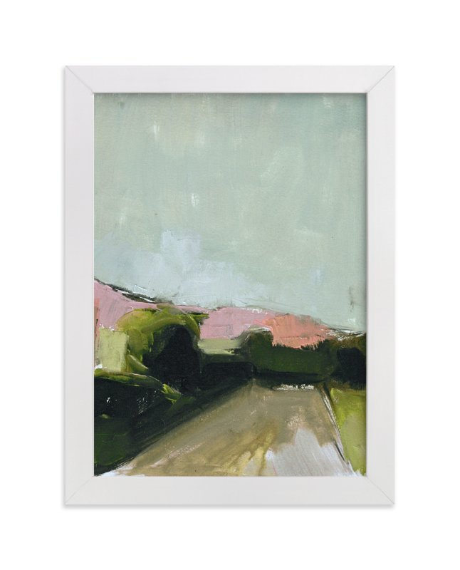 """""""Road Trip"""" - Limited Edition Art Print by Lynne Millar in beautiful frame options and a variety of sizes."""