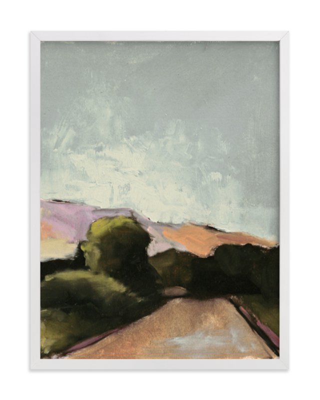 """""""Road Trip 2"""" - Art Print by Lynne Millar in beautiful frame options and a variety of sizes."""