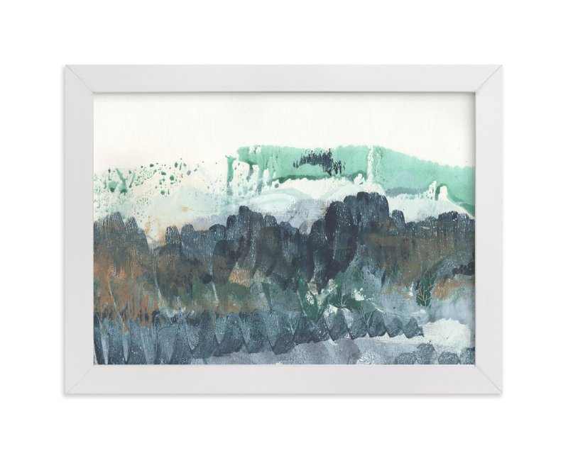 """Scape of the Land "" - Art Print by Jennifer Daily in beautiful frame options and a variety of sizes."