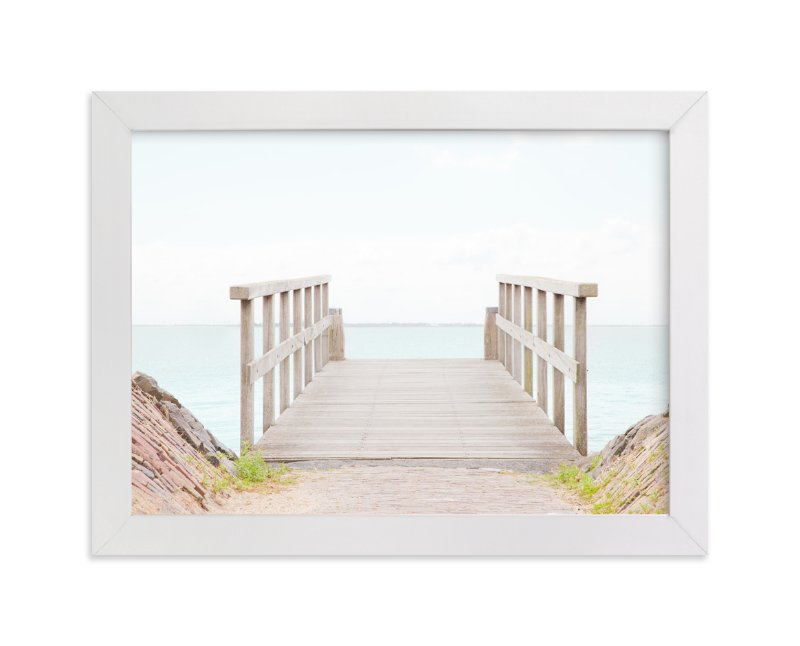 """""""The Edge"""" - Art Print by Alexandra Feo in beautiful frame options and a variety of sizes."""