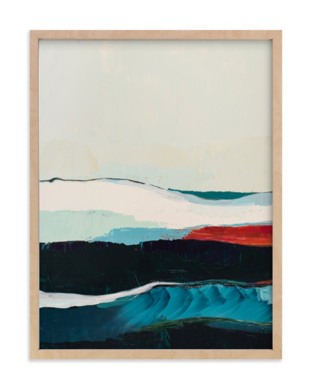 """""""The Chiton"""" - Limited Edition Art Print by Caryn Owen in beautiful frame options and a variety of sizes."""