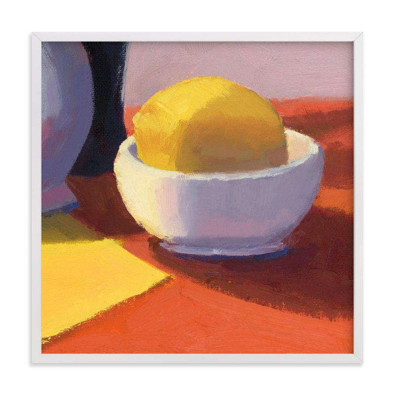 """""""Squeeze"""" - Limited Edition Art Print by sue prue in beautiful frame options and a variety of sizes."""